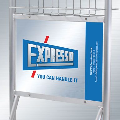 Advertising-panel